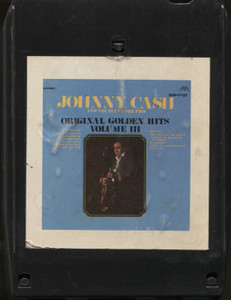 Johnny Cash: Original Golden Hits, Volume III - 8 Track Tape