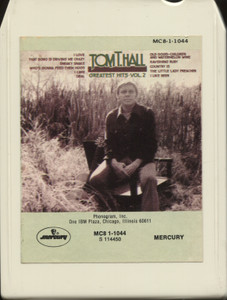 Tom T. Hall: Greatest Hits, Volume II - Vintage 8 Track Tape
