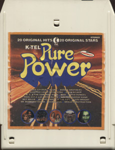 Various Artists: K-Tel Pure Power - Vintage 8 Track Tape