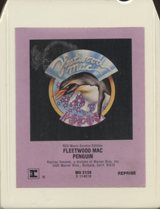 Fleetwood Mac: Penguin - 8 Track Tape