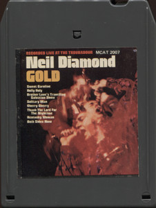 Neil Diamond: Gold - Vintage 8 Track Tape