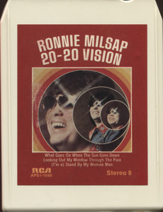 Ronnie Milsap: 20-20 Vision - 8 Track Tape