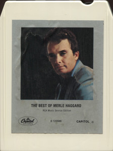 Merle Haggard: The Best of Merle Haggard - 8 Track Tape
