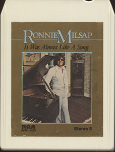 Ronnie Milsap: It was Almost Like a Song - Vintage 8 Track Tape