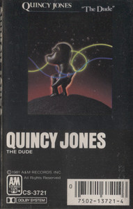 Quincy Jones: The Dude -  Audio Cassette Tape