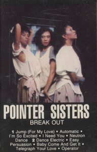 Pointer Sisters: Break Out -  Audio Cassette Tape