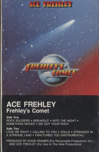 Ace Frehley: Frehley's Comet -  Audio Cassette Tape