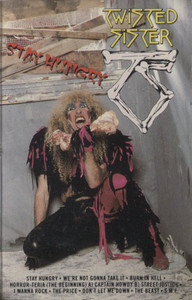 Twisted Sister: Stay Hungry -  Audio Cassette Tape