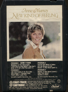 Anne Murray: New Kind of Feeling - Vintage 8 Track Tape