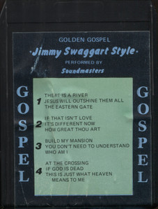 Soundmasters: Golden Gospel Jimmy Swaggart Style - 8 Track Tape