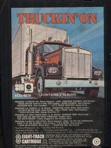 Various Artists: Truckin' On - 8 Track Tape