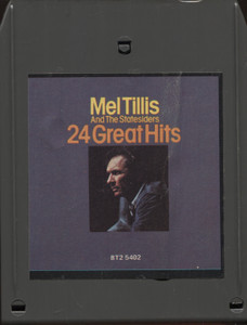 Mel Tillis and the Statesiders: 24 Great Hits - 8 Track Tape