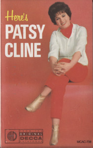 Patsy Cline: Here's Patsy Cline -  Audio Cassette Tape
