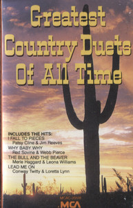 Various Artists: Greatest Country Duets of All Time -  Audio Cassette Tape