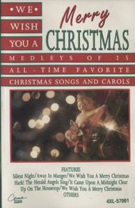 Various Artists: We Wish You a Merry Christmas -  Audio Cassette Tape