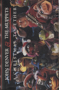 John Denver and the Muppets: A Christmas Together -  Audio Cassette Tape