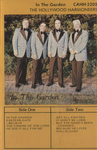 The Hollywood Harmoneers: In the Garden - Audio Cassette Tape