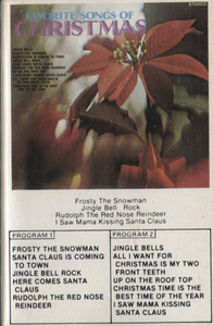 The Music City Singers: Favorite Songs of Christmas - Audio Cassette Tape