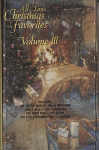 Various Artists: All Time Christmas Favorites, Volume 3 - Audio Cassette Tape