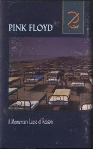 Pink Floyd: A Momentary Lapse of Reason - Audio Cassette Tape