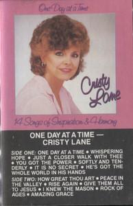 Cristy Lane: One Day at a Time - Vintage Cassette Tape