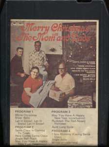 The Mom and Dads: Merry Christmas with the Mom and Dads - 8 Track Tape