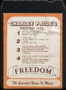 The Soundmasters: Charley Pride's Greatest Hits - 8 Track Tape