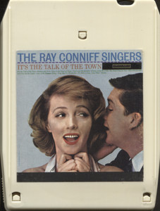 The Ray Conniff Singers: It's the Talk of the Town - 8 Track Tape