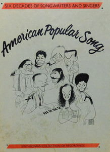American Popular Song, Smithsonian Collection of Recordings - 4 Tape  Audio Cassette Tape Box Set