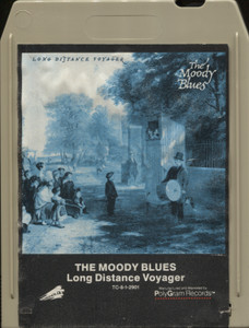 The Moody Blues: Long Distance Voyager - 8 Track Tape