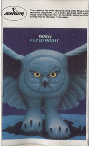 Rush: Fly by Night - Audio Cassette Tape