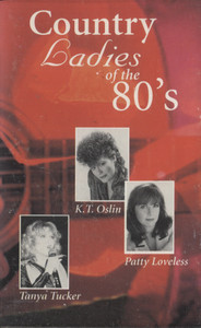 Various Artists: K-Tel Country Ladies of the 80's - Audio Cassette Tape
