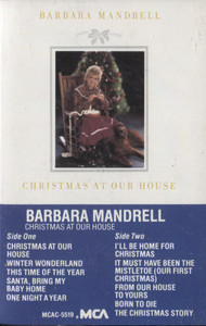 Barbara Mandrell: Christmas at Our House - Vintage Audio Cassette Tape