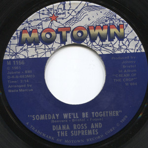 Diana Ross & the Supremes: He's My Sunny Boy / Someday We'll Be Together - 45 rpm Vinyl Record