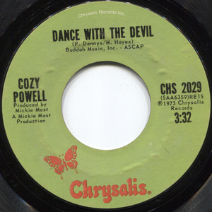 Cozy Powell: And There There was Skin / Dance with the Devil - 45 rpm Vinyl Record
