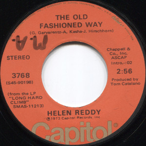 Helen Reddy: Leave Me Alone (Ruby Red Dress) / The Old Fashioned Way - 45 rpm Vinyl Record