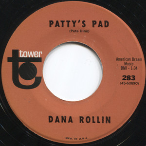 Dana Rollin: Patty's Pad / Winchester Cathedral - 45 rpm Vinyl Record
