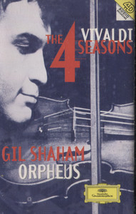 Gil Shaham: Vivaldi The 4 Seasons / Orpheus - Audio Cassette Tape