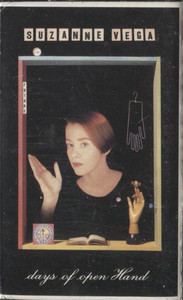 Suzanne Vega: Days of Open Hand - Audio Cassette Tape