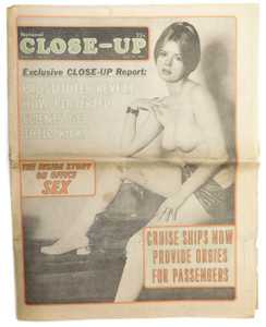May 29, 1972 National Close-Up - Vintage Men's Adult Magazine Newspaper Tabloid