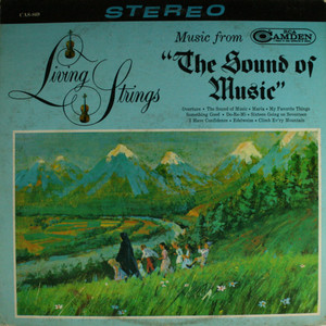 Living Strings: Music from The Sound of Music - LP Vinyl Record Album
