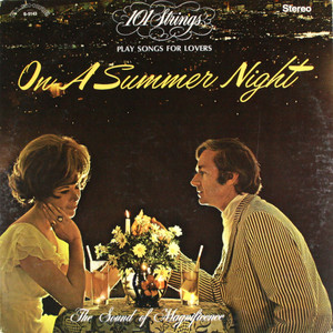 101 Strings: Play Songs for Lovers On a Summer Night - LP Vinyl Record Album