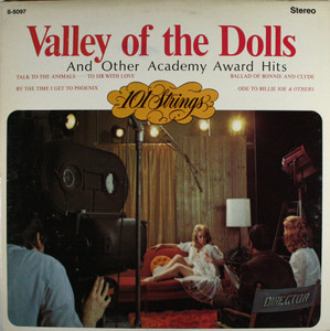 101 Strings: Valley of the Dolls and Other Academy Award Hits - LP Vinyl Record Album