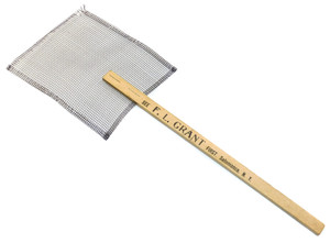 Antique F.L. Grant Furnishing Store Advertising Fly Swatter - Salamanca, NY