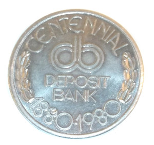 1980 Deposit Bank Centennial 100th Anniversary Commemorative Coin