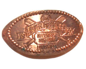 1992 Winter Meeting December 5th-10th Louisville Baseball Elongated Penny