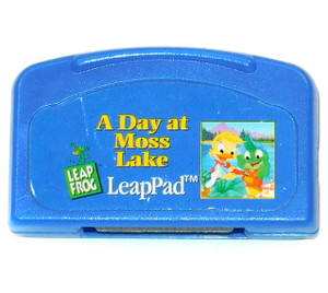 A Day at Moss Lake Vintage Leap Frog LeapPad Video Game Cartridge