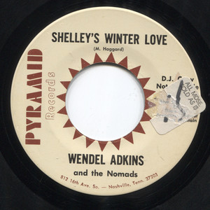 Wendel Adkins and the Nomads: Without You / Shelley's Winter Love - Promo Vinyl 45 rpm Vinyl Record