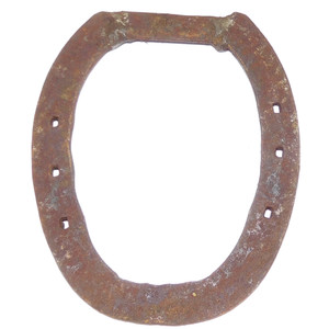 Antique Primitive Used Antique Iron Horseshoe Good Luck Decoration