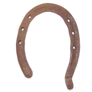 Antique Primitive Rusty Steel Horseshoe Good Luck Decorative Horse Shoe